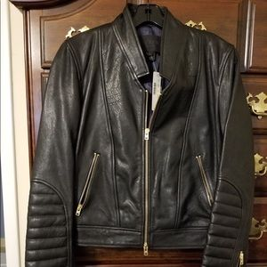 J.crew leather moto jacket